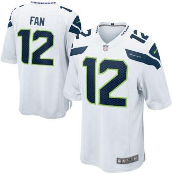 Men's NFL Seattle Seahawks #12 Fan Breathable Sport Jersey - intl Price Philippines
