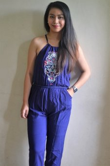 Dion and Mary Jumpsuit (Blue) Price Philippines