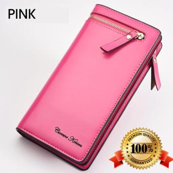 Authentic Korean Curewe Long Wallet (PINK) Price Philippines