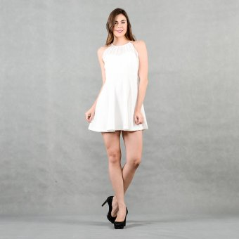 Get laud Sd Navi Dress (White) Price Philippines