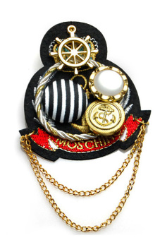 Brooch Ship Anchor Badge (Multicolor) Price Philippines