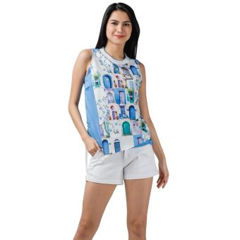 Harga Plains and Prints Nickleby Sleeveless Top (Multi)