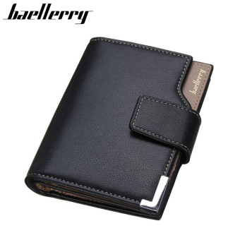 Brand Men wallets Short wallet for Men Quality Male's Purse Soft Leather Wallet Men Purse Card Holder Gift for Men Black,Brown Price Philippines