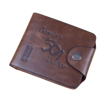 Mens Genuine Leather Bifold Wallet Brown Price Philippines