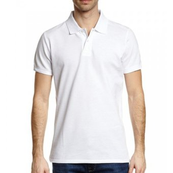 Harga Lifeline Polo Shirt (White)