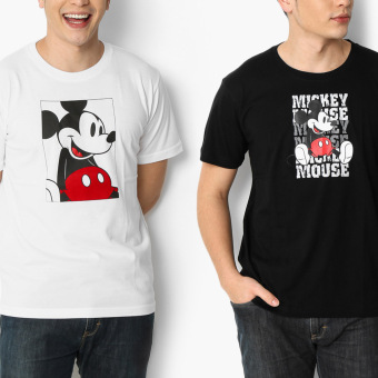 Harga Disney Mickey Mouse 2-piece Typography Teens Tee Set (M)