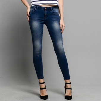 Harga PENSHOPPE Low-Rise Powerstretch Skinny Fit Jeans (Faded Denim)
