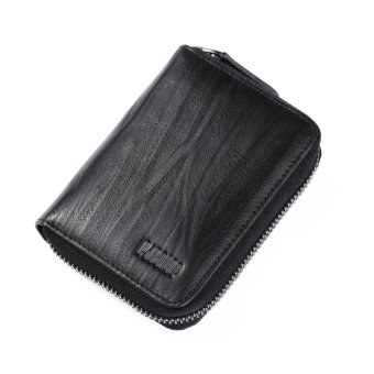 Pabojoe Genuine Leather Coin Pouch For Women Mini Fashion Card Wallet Black - intl Price Philippines