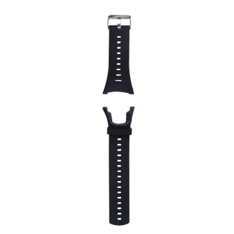 Soft Black Rubber Replacement Watch Band Strap For SUUNTO Ambit 3 PEAK/Ambi - intl Price Philippines