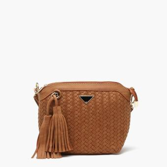 Harga Parisian Ladies Nice Sling Bag (Tan)