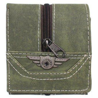 KayGurt Upright Zip Earth Tone Wallet (Sap Green) Price Philippines