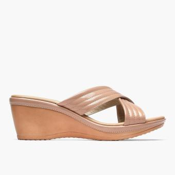 Harga Parisian Plus Ladies Nori Wedge Sandals (Blush)