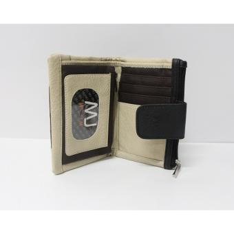 Mj by McJim WLT45-G75 Leather Fold Wallet (Cream) Price Philippines