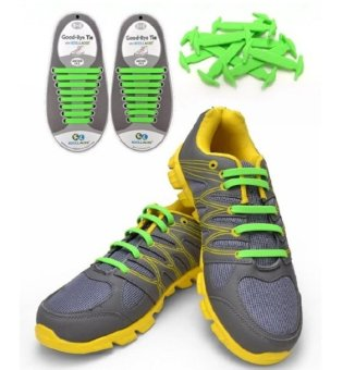 Harga Koollaces No Tie Silicone Laces Green