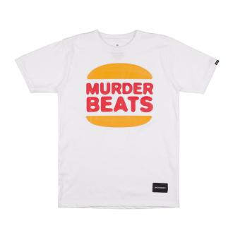 Harga DAILY GRIND Murder King T-shirt (White)