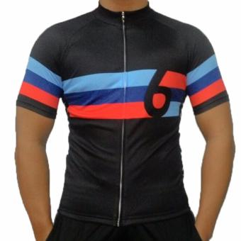 Harga Fortress Bicycle Drifit cycling top Full zipper Jersey (TOPJERSEY1)