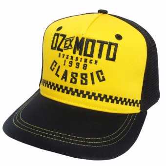 Harga Oz Ex Moto Chrome Trucker Cap
