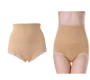 Munafie Seamless Hip Abdomen Fat Burning Waist Slim Panties (Brown) Price Philippines