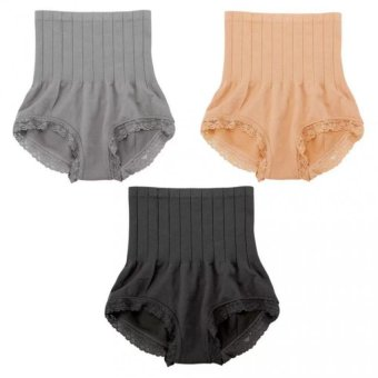 Munafie Slimming Panty Set of 3 (Black, Beige, Gray) Price Philippines