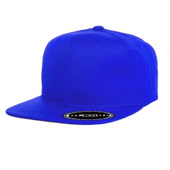 Harga BLKSHP Solid Blank Plain Snapback (Royal Blue)