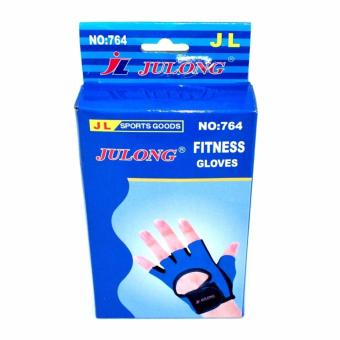 Harga Verygood Julong MT-764 Fitness Gloves (Blue/Black)for bicycle motorcycle sport Fitness
