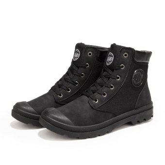 Harga Men's Fashion boots causal girl Ankle Boots - intl