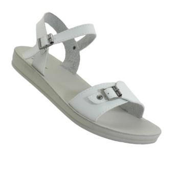 Seven Squared M-0004 Strappy Flat Sandals (White) Price Philippines