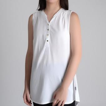Harga Redgirl Sleeveless Blouse Rlt04-3041 (B.White)