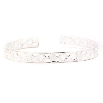 Jewelworld Eva Tiffany 69 Bangle (Silver) Price Philippines