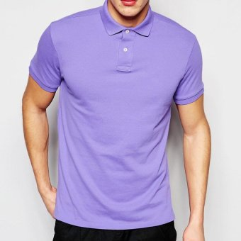 Harga Lifeline Polo Shirt (Lilac)