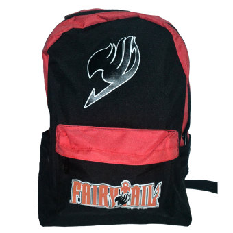 FairyTail Logo Backpack (Black/Red) Price Philippines