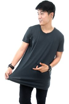 BLKSHP Oversized Softstyle Longline Tee (Solid Loadem) Price Philippines
