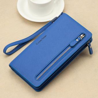 Authentic Korean - Curewe Multifunction Long Wallet (Blue) Price Philippines