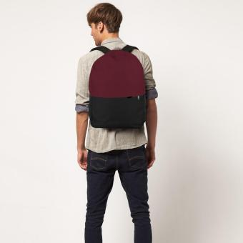 Harga Treeco Canvas Sul Ross Collection Backpack (Maroon/Black)