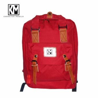 Karakter Manila Candy Backpack Bag ( Red ) Price Philippines