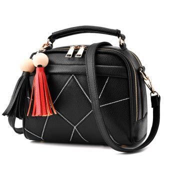 European and American Lady Handbags(Black) Price Philippines
