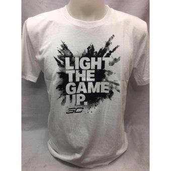 Stephen Curry Light Up the Game shirt adult medium Price Philippines