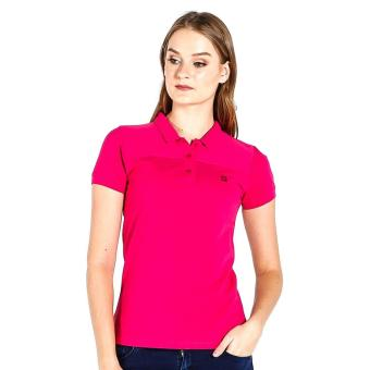 Harga PENSHOPPE Ribbed Ladies Polo (Pink)
