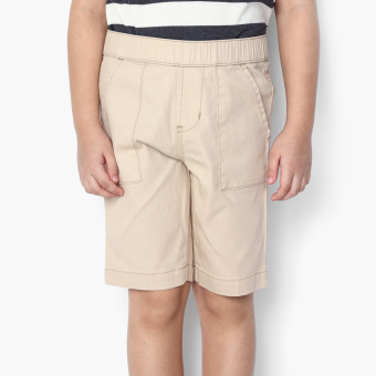 Harga Just Jeans Boys Drawstring Cargo Shorts (Cream)