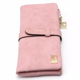 Authentic Nubuck Leather High Quality Wallet Women (Pink) Price Philippines