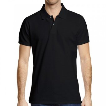 Harga Lifeline Polo Shirt (Black)