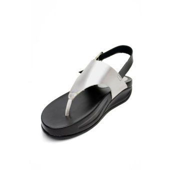 Kayce Flip Flops by 'Floppies by Ohrelle' (Silver) Price Philippines