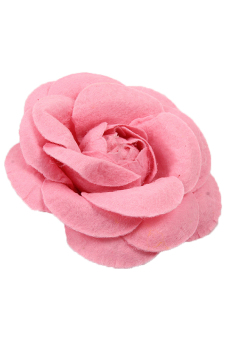 Harga Hengsong Camellia Flower Pin Brooches (Pink)