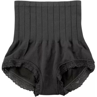 MUNAFIE Seamless Hip Abdomen Fat Burning Waist Slim Panties (Black) Price Philippines