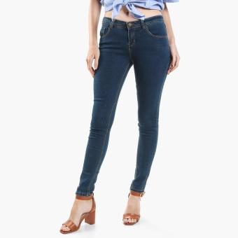 Harga SM Woman Slim Jeans (Blue)