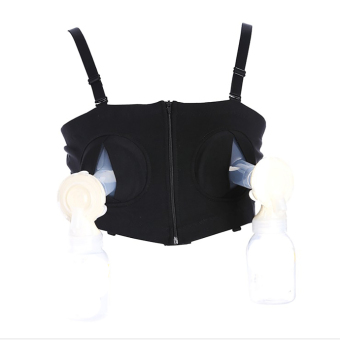 YingWei Maternity Bra Cotton Maternity Bra for Nursing Push Up Hands Free Breast pump Bra Maternity Breastfeeding Bra Underwear Black Price Philippines