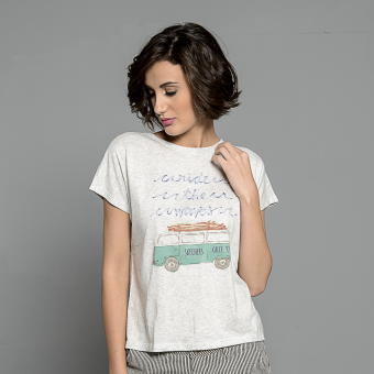Skechers Ladies Ride The Waves Tee (White) Price Philippines