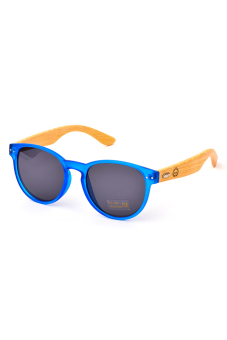 Harga Bamboo Shades BX-S.R Sunglasses (Blue/Black)