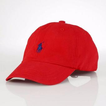 Harga Cap Polo Ralph Lauren red