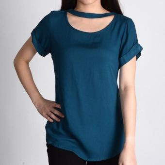 Harga Redgirl Short Sleeves Blouse Rlt04-3037 (Corsair )
